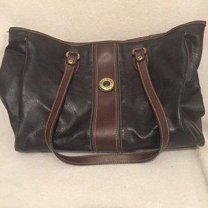 Paris Tokyo Roma Leather Handbag